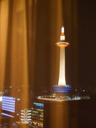 Hotel Granvia Kyoto: 窓の外には京都タワー