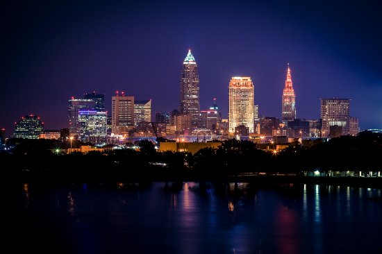 Cleveland Skyline at Edgewater