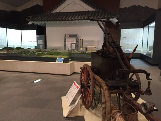ひっそりたたずむ歴史博物館