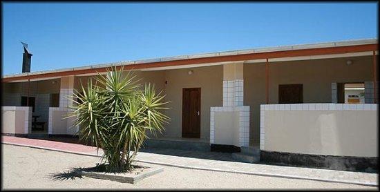 Usakos, Namibia: Front view of Nubeb