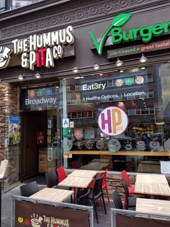Photo of Mediterranean Restaurant The Hummus at 585 6th Ave, New York, NY 10011, United States