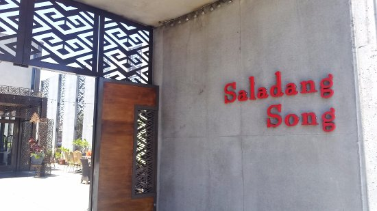 Saladang Song: It looks like an industrial building