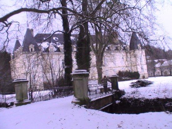 Arc-en-Barrois, France: overburen van Le Parc