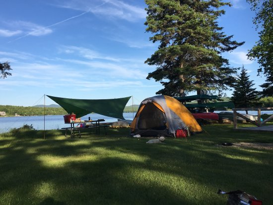 Greenville, ME: The perfect campsite!