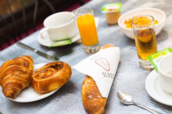 Hôtel Icare: Petit-déjeuner Hotel Icare