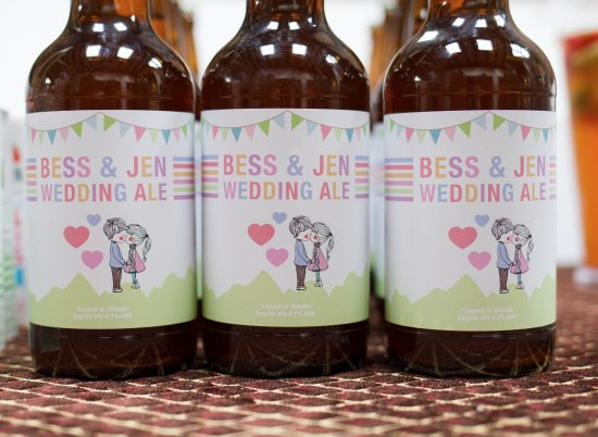 Longhope, UK: Our Wedding Ale from Hillside Brewery