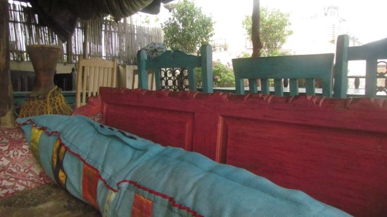 Jyoti Mahal Guest House: First day in the amazing roof