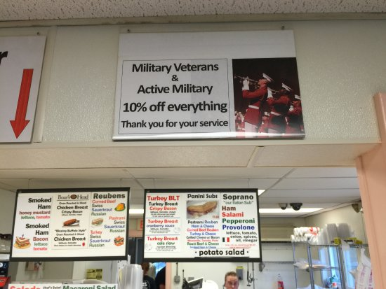 Ferndale, NY: Vets get discount