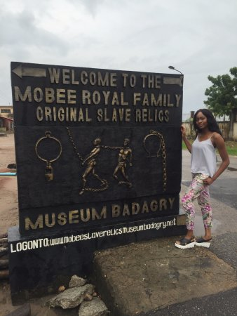 Badagry Slave Museum and Black History Museum: Outside Mobee Museum