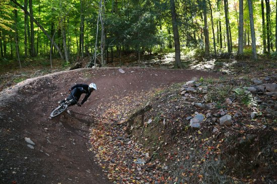 Windham, NY: Bike park Jump trail