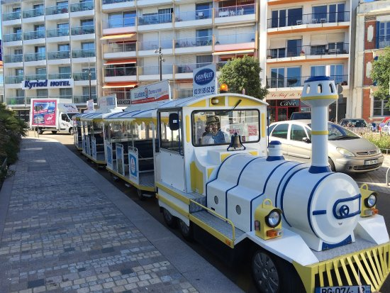 Visite commentee en Petit Train Touristique