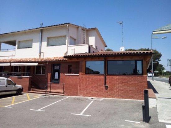 Llica d'Amunt, สเปน: Entrada restaurante