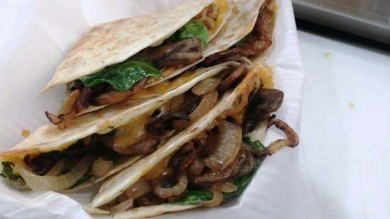 Spring City, Юта: Mushroom Quesadilla