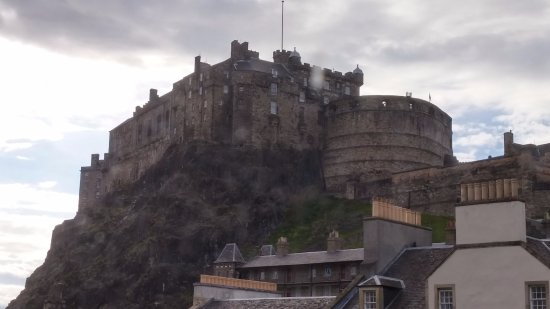 Apex Grassmarket Hotel: The View From Our Room