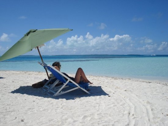 Praia Noronky : seule au monde