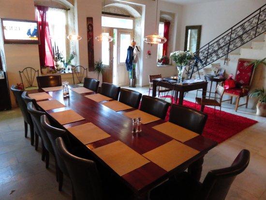 Villa Kerasia: Reception and dining room