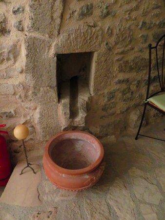 Villa Kerasia: the old wine press