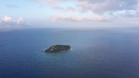 Royal Davui Island Resort: vista desde helicóptero