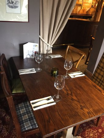 The Packe Arms: full service dining