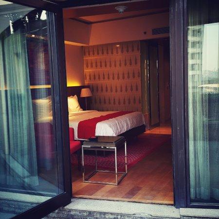 Trident, Bandra Kurla, Mumbai: Room from the Balcony
