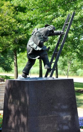 Coralville, IA: Iowa Firefighters Memorial
