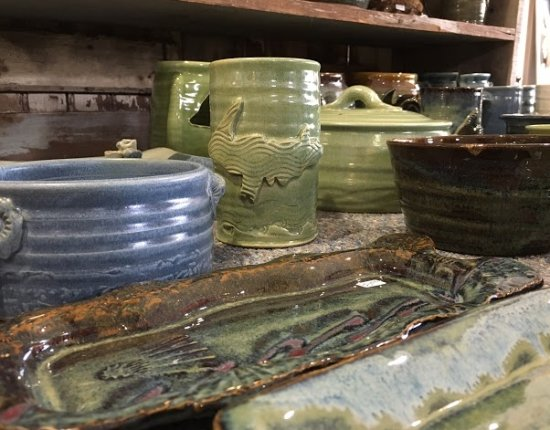 The Mustard Seed: pottery