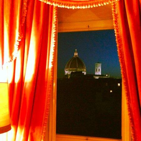 Hotel Loggiato dei Serviti: From our window.