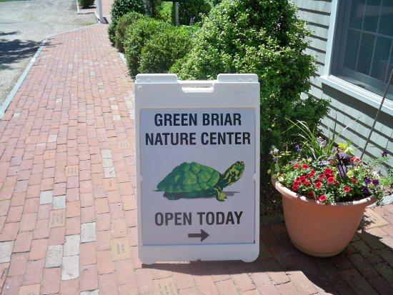 East Sandwich, MA: Entrance Signage