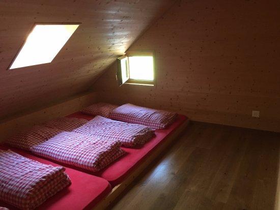 Berggasthaus Bollenwees : Matratzenlager