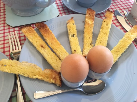 Walsingham, UK: Best ever boiled eggs and 'airmen'