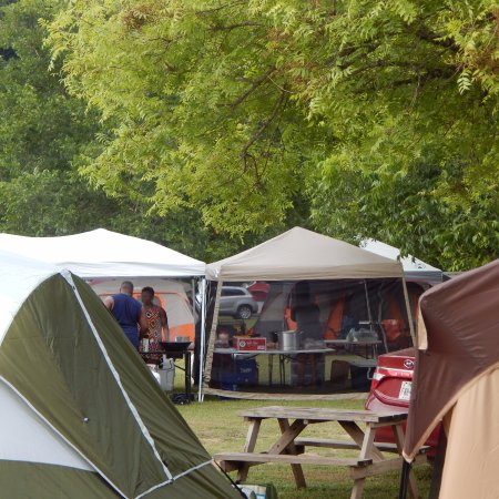 New Braunfels Camping >> Campground Are Above The River Picture Of Mountain Breeze