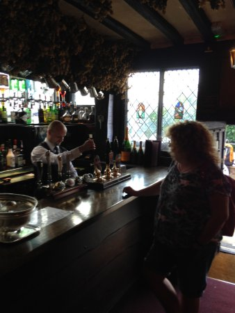Giants Fireplace Bar at The Mermaid Inn: wait for it