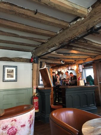The Pheasant: Interior of Pheasant Inn