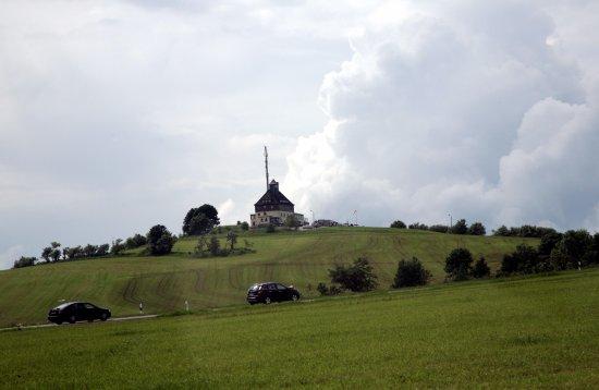 Auffahrt aus Richtung Neuhausen
