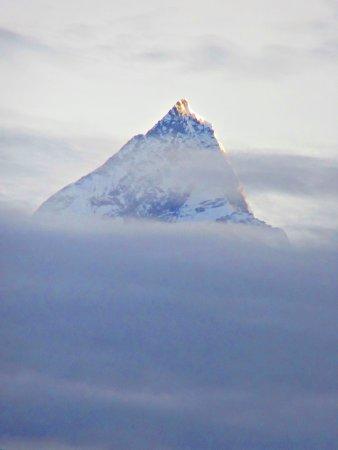 Kathmandu Valley, Nepal: Mt. Machapuchare, Sarangkot, Nepal