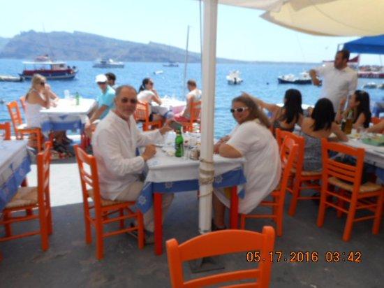 Myblue: Lunch at Katina's with Paul & Sylvia