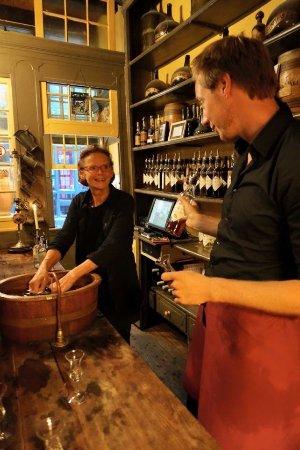 "Wynand Fockink : the staff were great! Helped us tase the ""dutch"" way!"