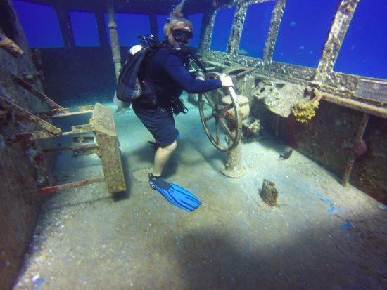 George Town, Grand Cayman: Pirate Divers
