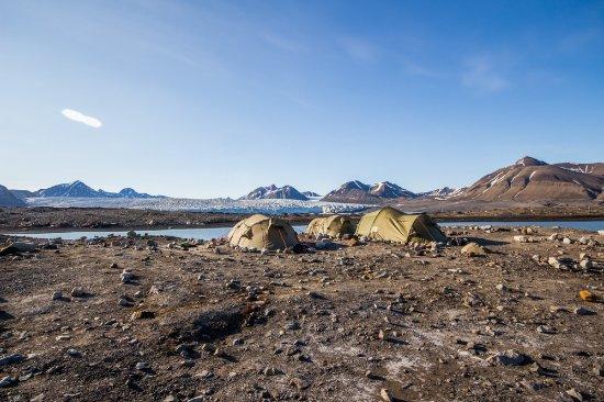 Longyearbyen, Noruega: our camp
