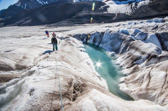Longyearbyen, Noruega: glacier hike