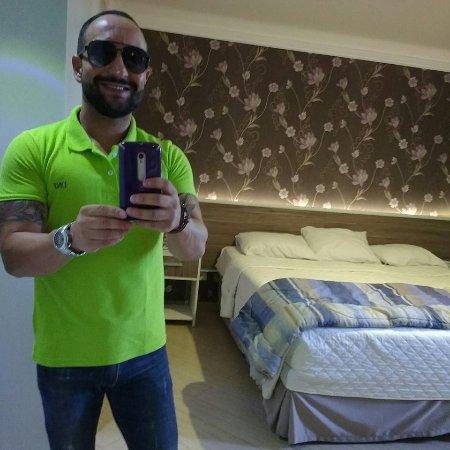 Foz Plaza Hotel: Vista do quarto