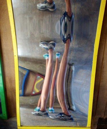 Hancock, MA: Fun house mirrors