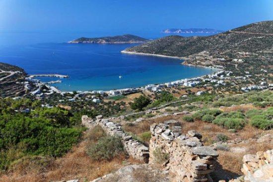 Sifnos, Yunani: Platy Gialos bay