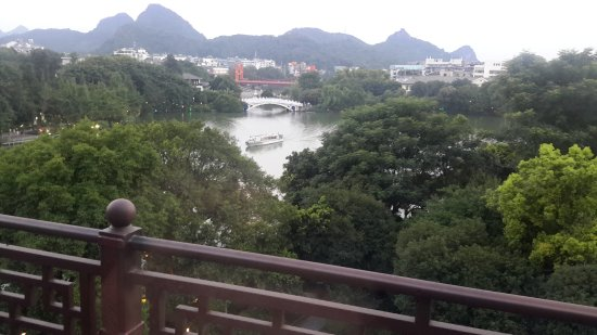 Aroma Tea House: view from dining room