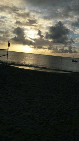 Cap Estate, St. Lucia: Beautiful sunset