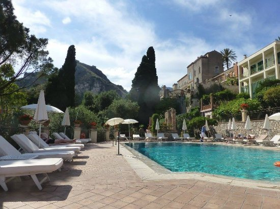 The pool picture of belmond grand hotel timeo taormina - Hotels in catania with swimming pool ...