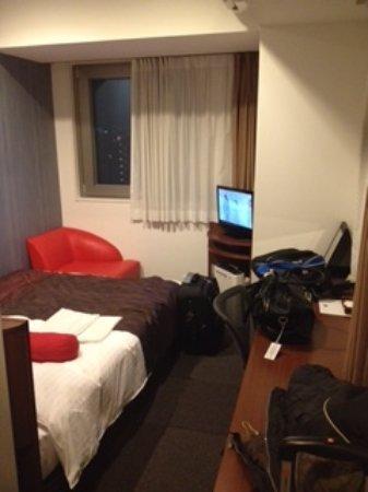 Hotel Mystays Asakusa-bashi: Tamanho do quarto