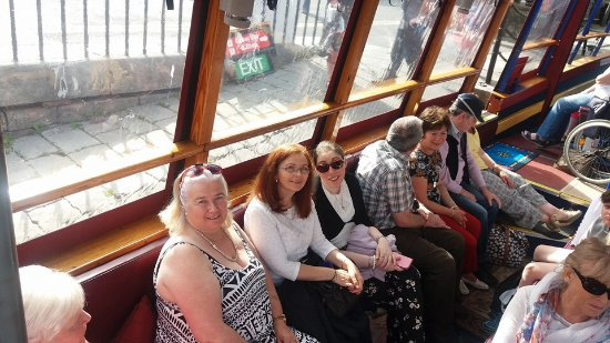 Viking Ship Cruises: Some of our members ready for casting off