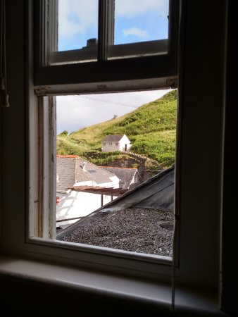 Portloe, UK: View of toilet