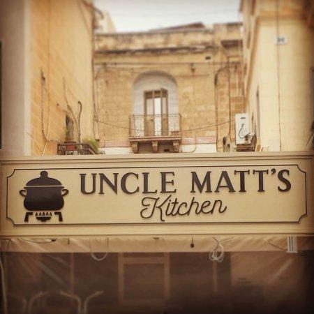 Uncle Matt\'s Sign - Picture of Uncle Matt\'s Kitchen, Marsascala ...